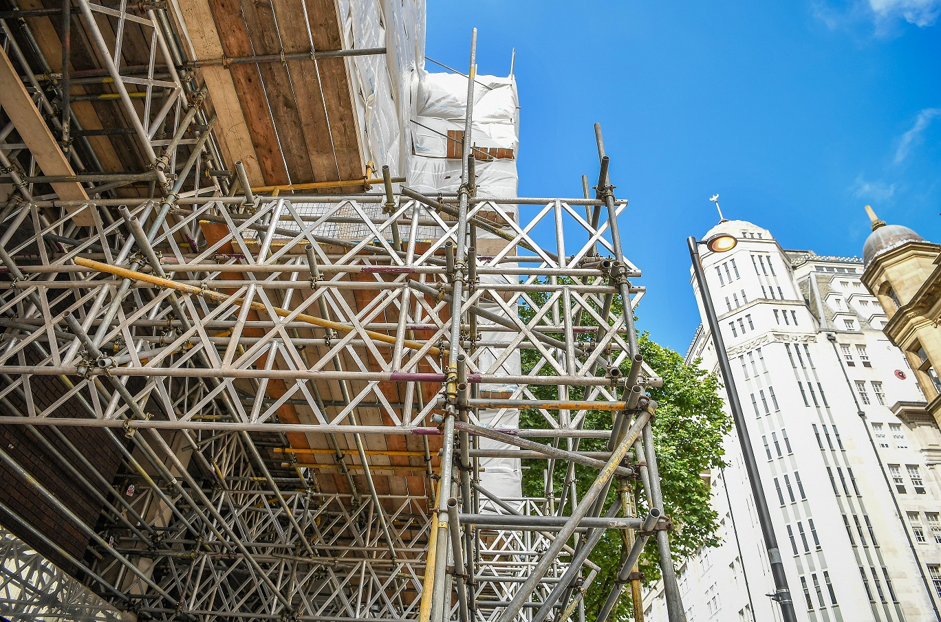 Improved scaffolding safety
