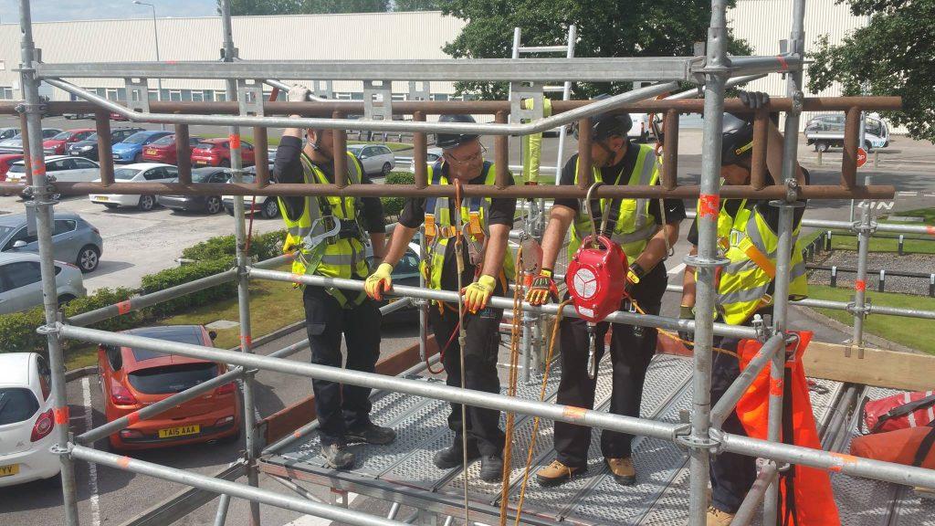 scaffold rescue