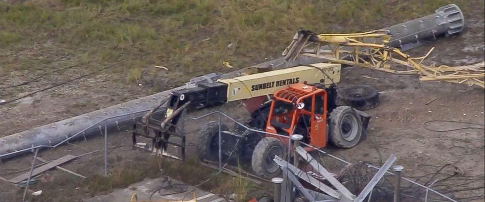 Miami scaffolding collapse