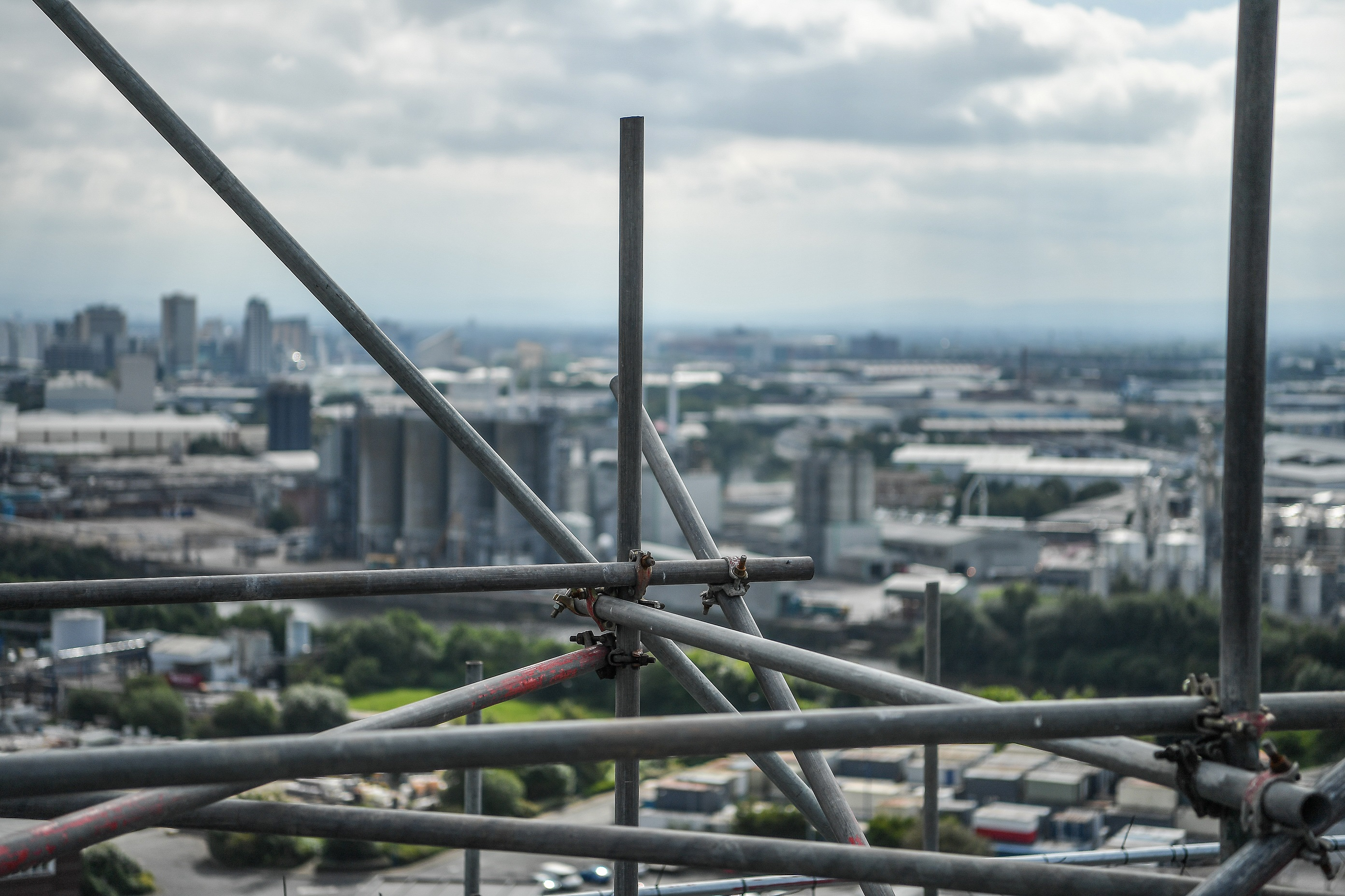 scaffolding damaged