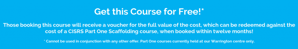 scaffolding course offer