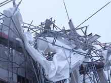 Gibraltar scaffold collapse