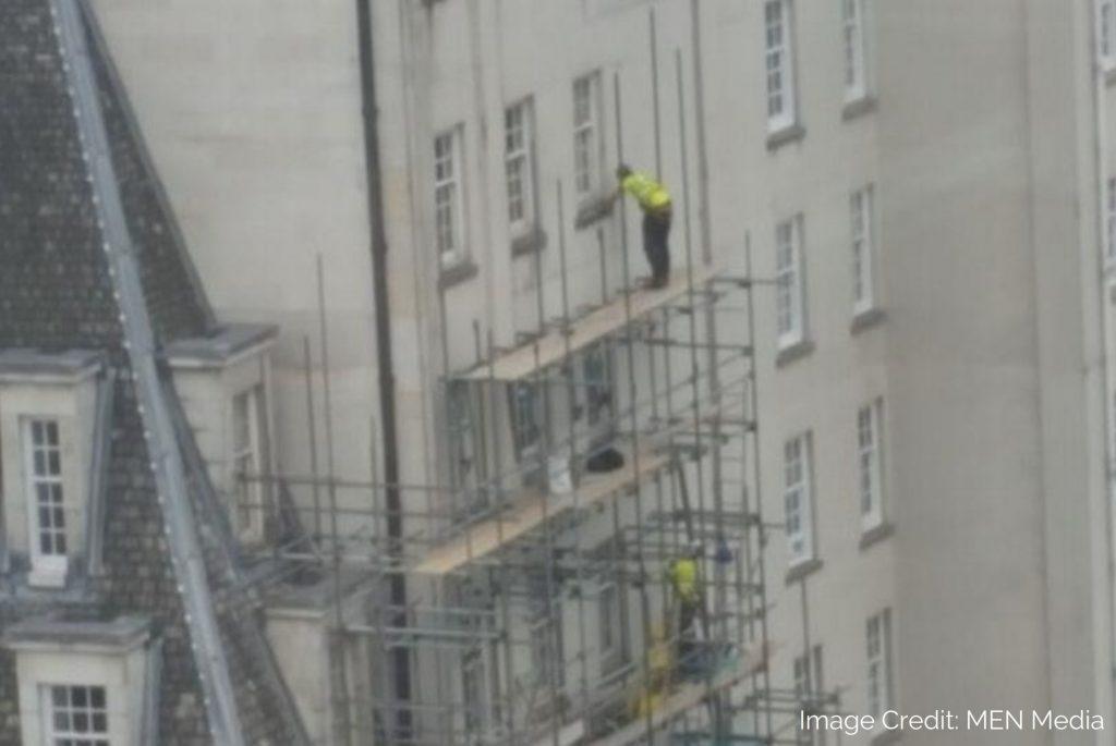 dangerous scaffolding practice