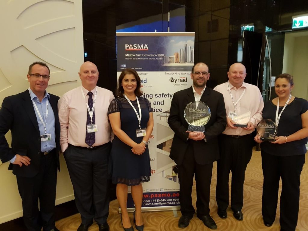 PASMA Award