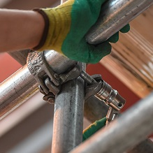 fine for scaffolding fall