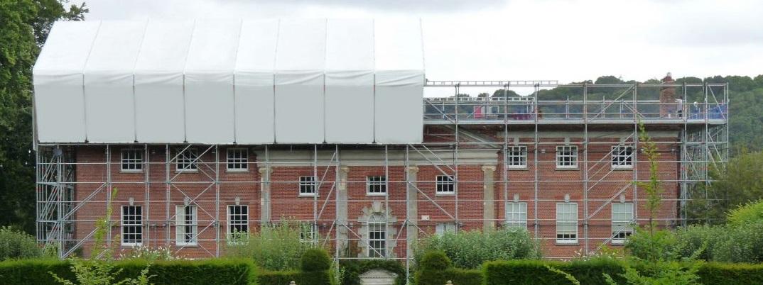 Layher scaffolding