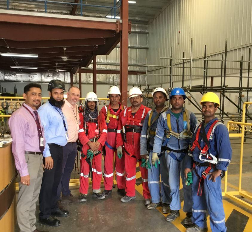 Scaffolding training Oman