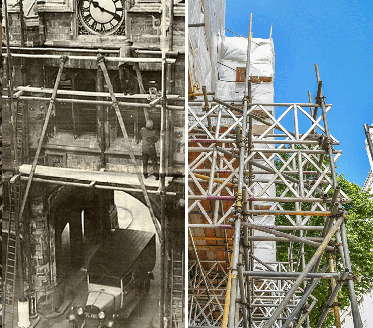 scaffolding safety over the years