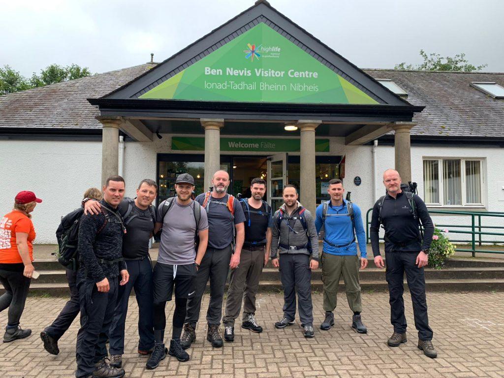 team at Ben Nevis visitor centre