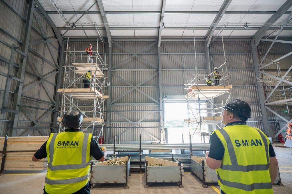 Weston scaffolding training centre