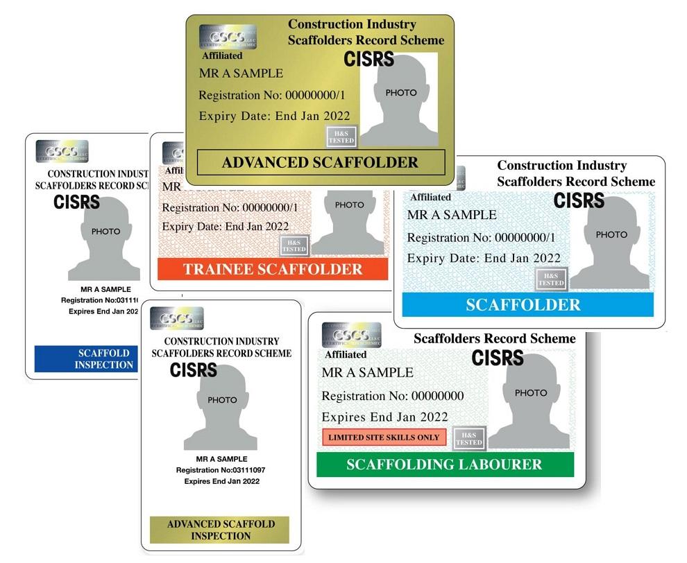 CISRS cards