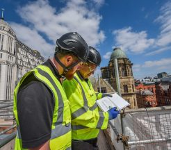 Independent scaffold inspection